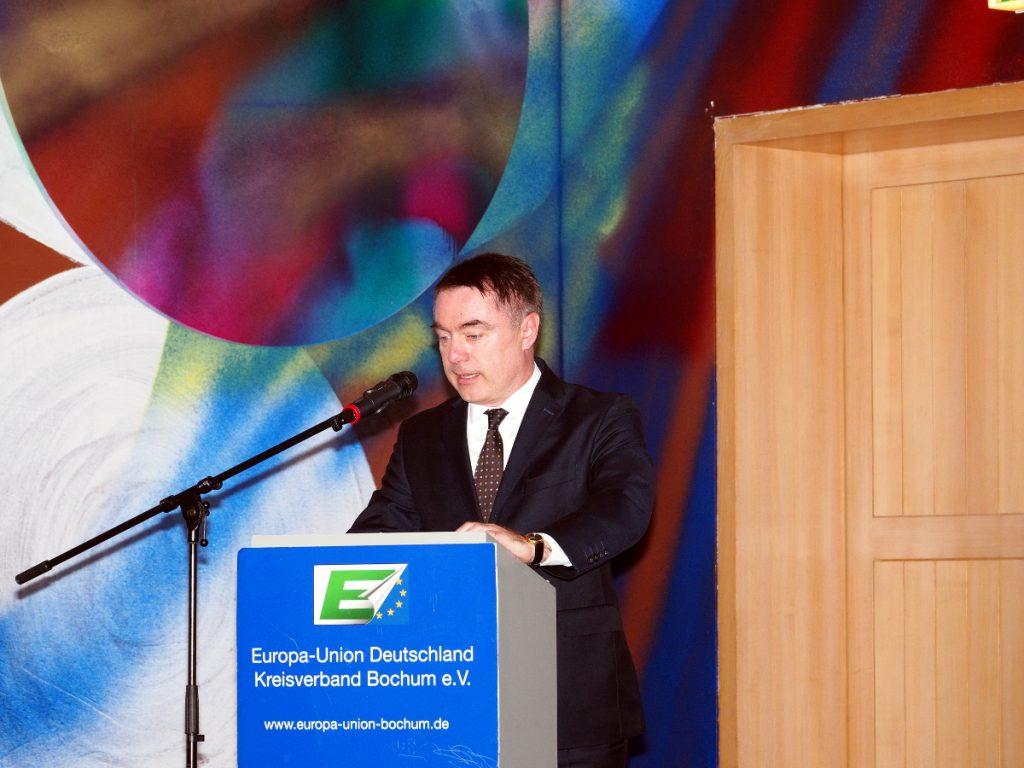Janus Styczek, Gesandter der Republik Polen