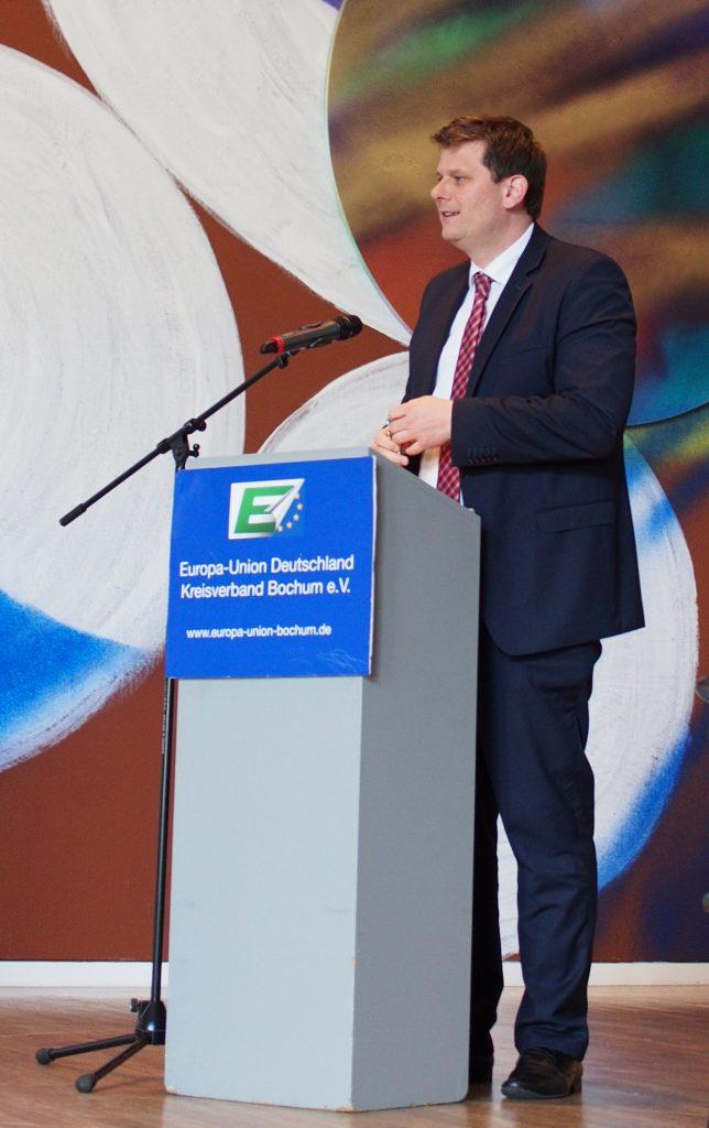 Staatssekretär Thorsten Klute