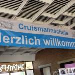 Eingang der Cruismannschule