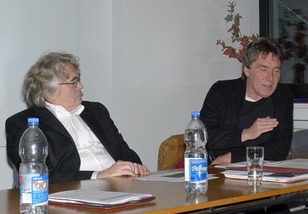 Jochen Marquardt (rechts) und Lother Gräfingholt
