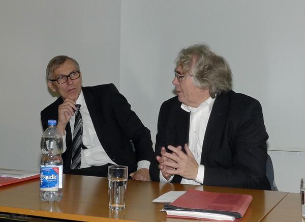 Luidger Wolterhoff und Lothar Gräfingholt