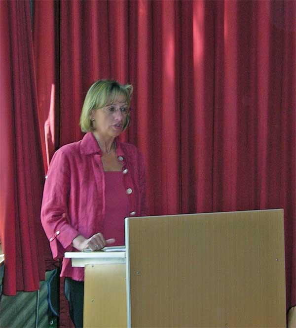 Schulleiterin Ursula Becker